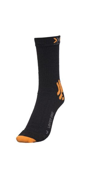 X-Socks Winter Biking Socks Unisex Black